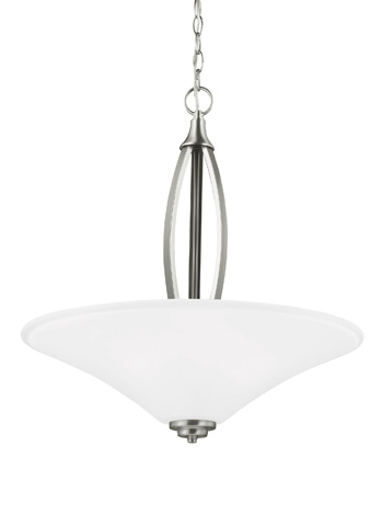 Sea Gull Lighting - Three Light Pendant - 6613203BLE-962
