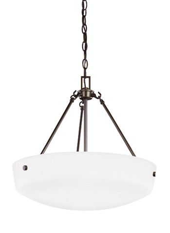 Sea Gull Lighting - Three Light Pendant - 6615203-782