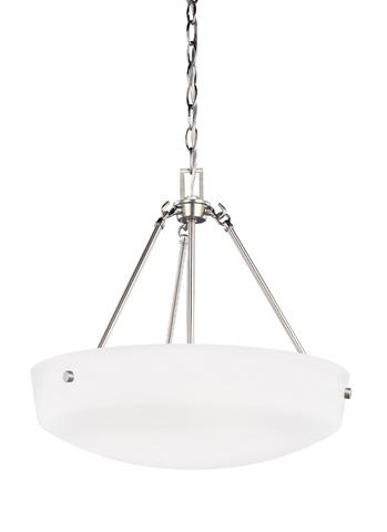 Sea Gull Lighting - Three Light Pendant - 6615203-962