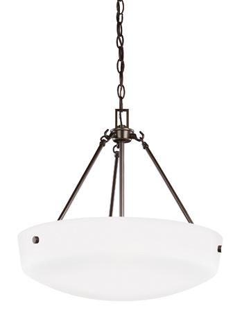Sea Gull Lighting - Three Light Pendant - 6615203BLE-782