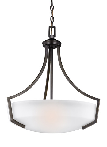 Sea Gull Lighting - Three Light Pendant - 6624503BLE-710