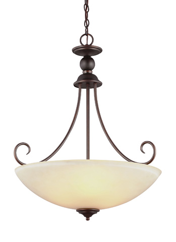 Sea Gull Lighting - Three Light Pendant - 66316BLE-710