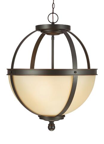 Sea Gull Lighting - Three Light Pendant - 6690403-715
