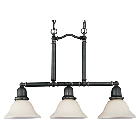 Sea Gull Lighting - Three Light Island Pendant - 69460BLE-782