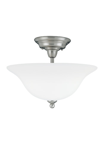 Sea Gull Lighting - Three Light Semi-Flush Mount - 75061-962