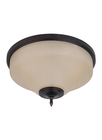 Sea Gull Lighting - Three Light Ceiling Flush Mount - 75180-710