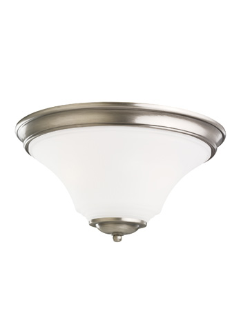 Image of Two Light Ceiling Flush Mount