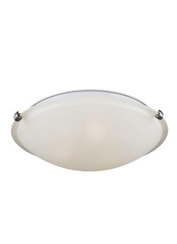 Sea Gull Lighting - Three Light Ceiling Flush Mount - 7543503-962
