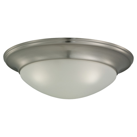 Sea Gull Lighting - Three Light Ceiling Flush Mount - 75436-962