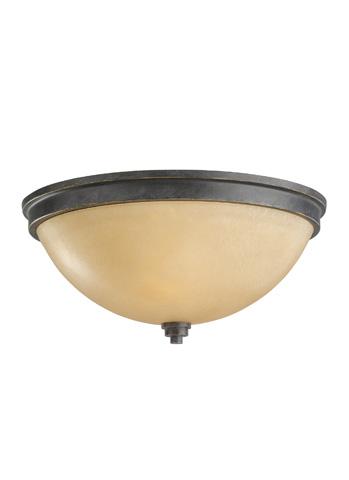 Sea Gull Lighting - Fluorescent Two Light Ceiling Flush Mount - 75520BLE-845