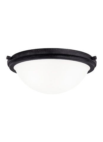 Sea Gull Lighting - Three Light Ceiling Flush Mount - 75662-839