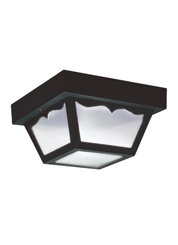 Sea Gull Lighting - One Light Outdoor Ceiling Flush Mount - 7567-32