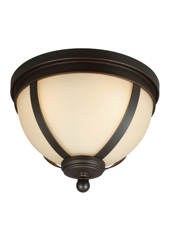 Sea Gull Lighting - Three Light Ceiling Flush Mount - 7590403-715