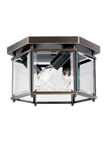 Sea Gull Lighting - Three Light Ceiling Flush Mount - 7648-782