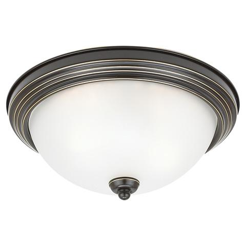 Sea Gull Lighting - Three Light Ceiling Flush Mount - 77065-782