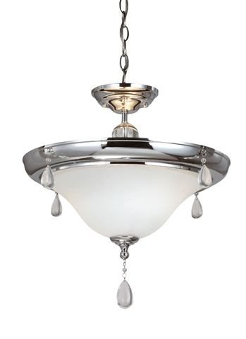 Sea Gull Lighting - Two Light Semi-Flush Convertible Pendant - 7710502-05