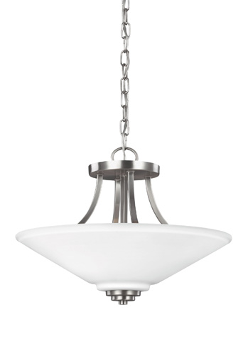 Sea Gull Lighting - Two Light Semi-Flush Convertible Pendant - 7713002BLE-962