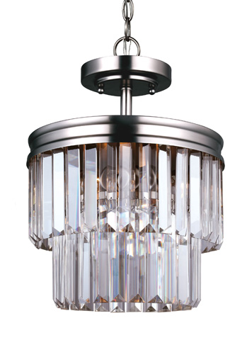 Sea Gull Lighting - Two Light Semi-Flush Convertible Pendant - 7714002-965