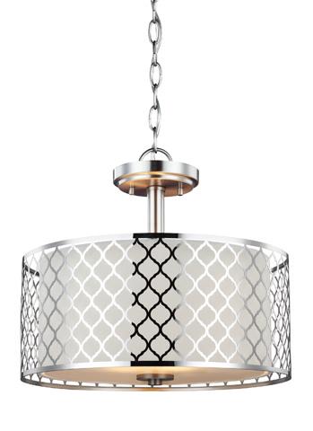 Sea Gull Lighting - Two Light Semi-Flush Convertible Pendant - 7715502BLE-962