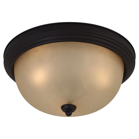 Sea Gull Lighting - Three Light Ceiling Flush Mount - 77165-820