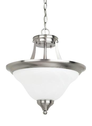 Sea Gull Lighting - Two Light Semi-Flush Convertible Pendant - 77174-962