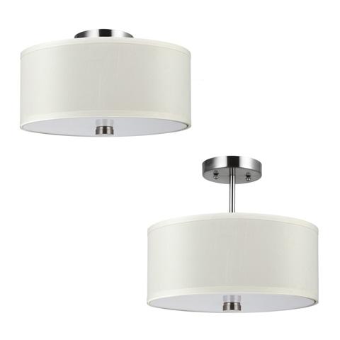 Sea Gull Lighting - Two Light Flush / Semi-Flush Convertible - 77262BLE-962