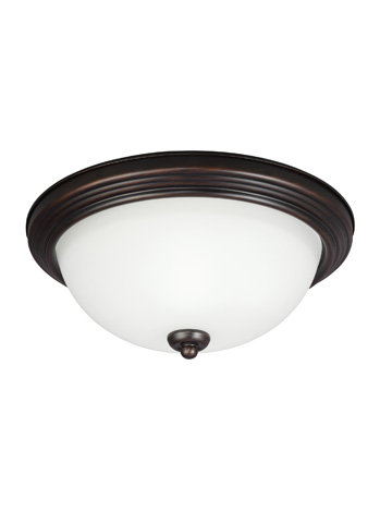 Sea Gull Lighting - Three Light Ceiling Flush Mount - 77265-710