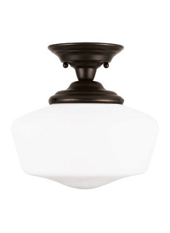 Sea Gull Lighting - Medium One Light Semi-Flush Mount - 77436BLE-782