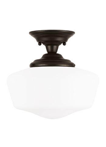 Sea Gull Lighting - Large One Light Semi-Flush Mount - 77437-782