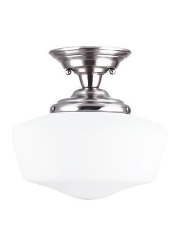 Sea Gull Lighting - Large One Light Semi-Flush Mount - 77437-962
