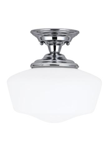 Sea Gull Lighting - Large One Light Semi-Flush Mount - 77437BLE-05