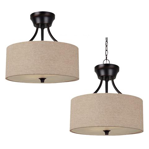 Sea Gull Lighting - Two Light Semi-Flush / Pendant - 77952BLE-710