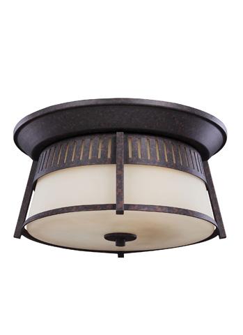 Sea Gull Lighting - Three Light Outdoor Flush Mount - 7811703-746