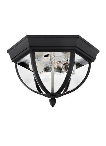 Sea Gull Lighting - Two Light Outdoor Ceiling Flush Mount - 78136-12