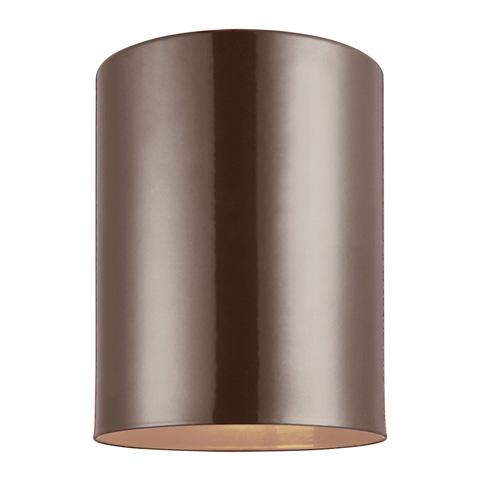 Sea Gull Lighting - One Light Outdoor Ceiling Flush Mount - 7813801-10