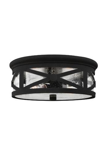 Sea Gull Lighting - Two Light Outdoor Ceiling Flush Mount - 7821402-12
