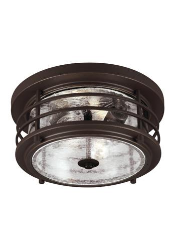 Sea Gull Lighting - Two Light Outdoor Ceiling Flush Mount - 7824402-71