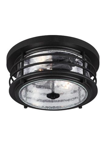 Sea Gull Lighting - Two Light Outdoor Ceiling Flush Mount - 7824402BLE-12