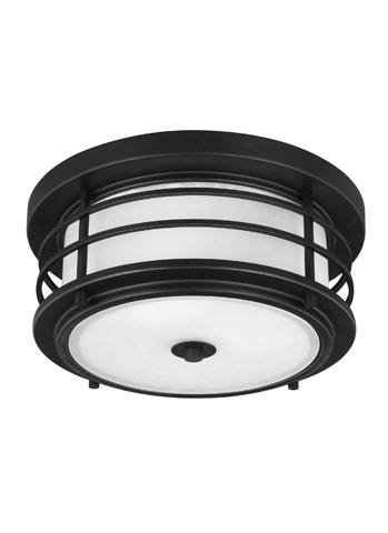 Sea Gull Lighting - Two Light Outdoor Ceiling Flush Mount - 7824452BLE-12