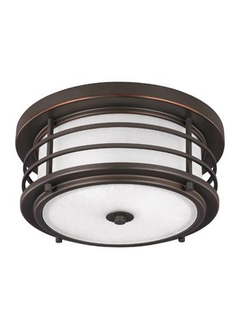 Sea Gull Lighting - Two Light Outdoor Ceiling Flush Mount - 7824452BLE-71