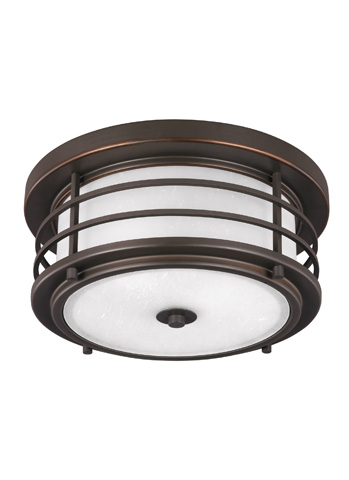 Sea Gull Lighting - LED Outdoor Ceiling Flush Mount - 7824491S-71