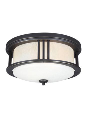 Sea Gull Lighting - Two Light Outdoor Ceiling Flush Mount - 7847902BLE-71