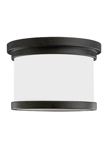 Image of One Light Outdoor Ceiling Flush Mount
