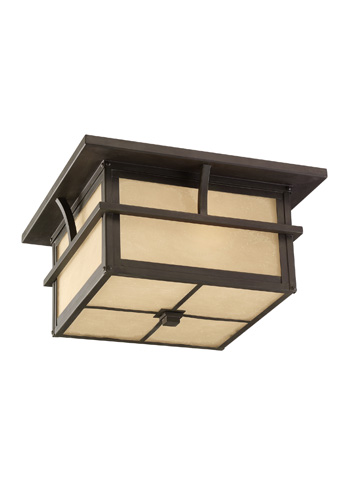 Sea Gull Lighting - Two Light Outdoor Ceiling Flush Mount - 78880-51