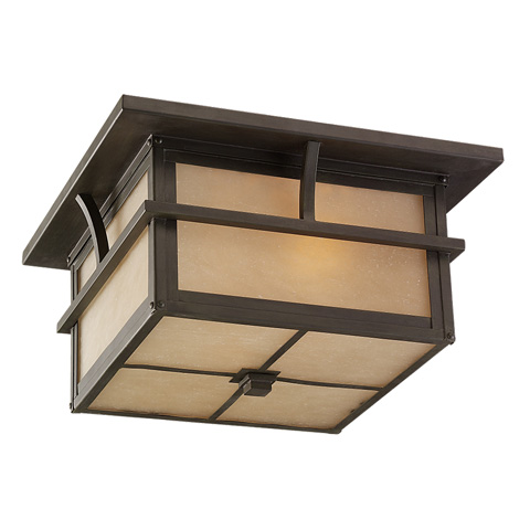 Sea Gull Lighting - Two Light Outdoor Ceiling Flush Mount - 78880BLE-51