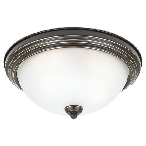 Sea Gull Lighting - Three Light Ceiling Flush Mount - 79565BLE-782
