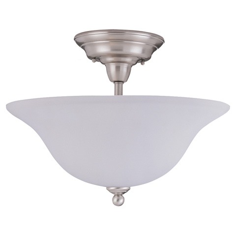Sea Gull Lighting - Three Light Semi-Flush Mount - 79661BLE-962