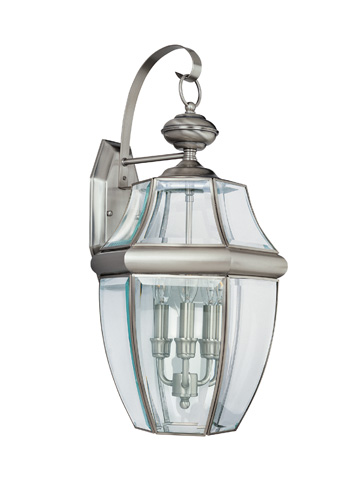 Sea Gull Lighting - Three Light Outdoor Wall Lantern - 8040-965
