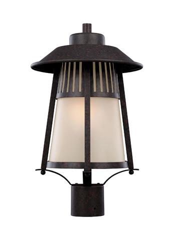 Sea Gull Lighting - One Light Outdoor Post Lantern - 8211701BLE-746