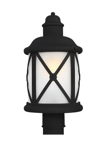 Sea Gull Lighting - One Light Outdoor Post Lantern - 8221401BLE-12